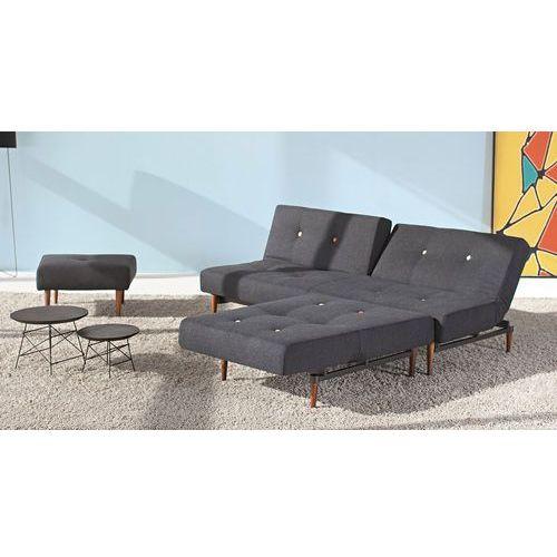 Istyle Fiftynine, sofa rozkładana, grafitowa tkanina 514, nogi do wyboru - 741024514MC