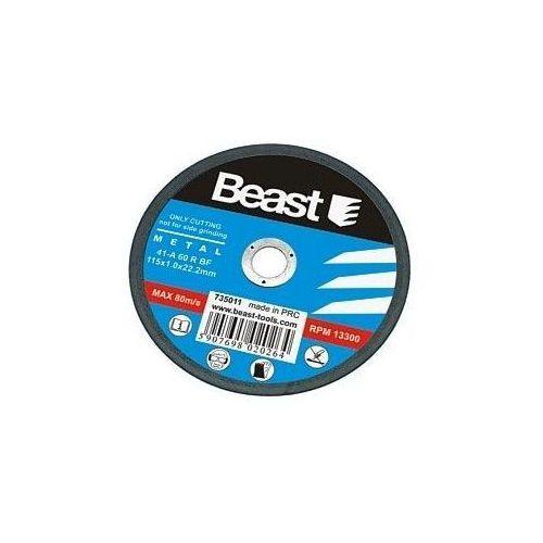 TARCZA TNĄCA DO METALU 115 x 1 x 22.2 mm ze sklepu Beast Tools