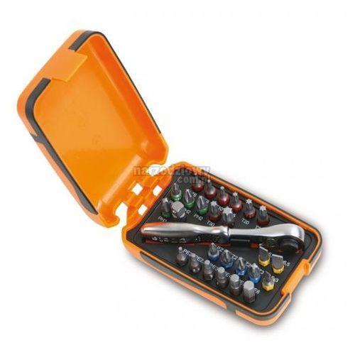 BETA Zestaw 25 końcówek wkrętakowych z akcesoriami Blister model 860/C27, kup u jednego z partnerów
