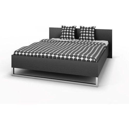 STYLE łóżko 160x200cm - czarny ze sklepu Meble Pumo