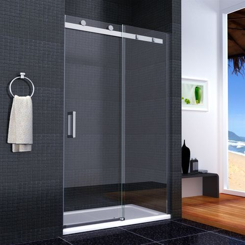 Drzwi prysznicowe przesuwne Nixon 110-150 (drzwi prysznicowe)