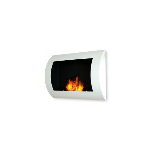 Biokominek dekoracyjny 60x45 cm biały Convex - EcoFire - oferta [056ddda70f23057d]