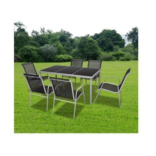 Zestaw 6 krzeseł jadalnianych, oraz stół, produkt marki vidaXL