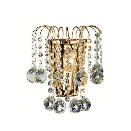 KINKIET kryształowy LAMPA ścienna OPRAWA klasyczna HABERG  102491 złoty, produkt marki Markslojd