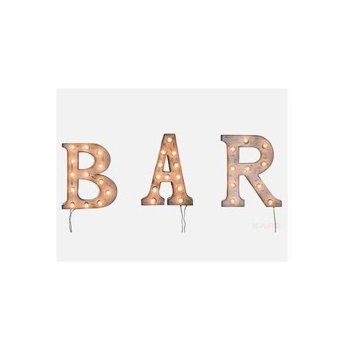 Światło Ścienne BAR (3/Set)  35185, produkt marki Kare Design