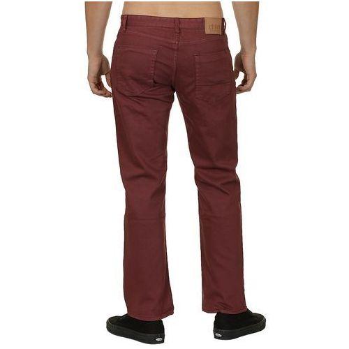 jeansy Etnies Straight Fit - Eggplant - produkt z kategorii- spodnie męskie