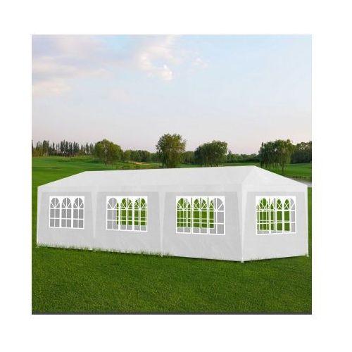 Namiot imprezowy, pawilon ogrodowy, biały (3x9) - produkt z kategorii- namioty ogrodowe