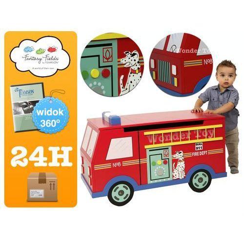 Towar z kategorii: skrzynki i walizki narzędziowe - Skrzynia na zabawki z serii Transport Toy Box Fire Engine