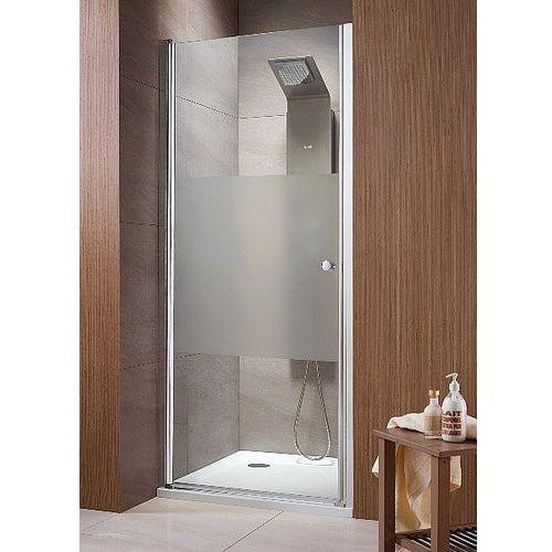 EOS DWJ Radaway drzwi wnękowe jednoczęściowe 890-910x1970 chrom intimato - 37903-01-12N (drzwi prysznicowe)