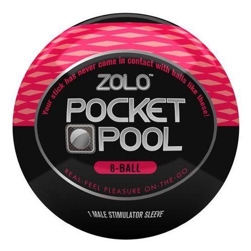 Masturbator podręczny - Zolo Pocket Pool 8 Ball - oferta [25d06e24f51564bc]