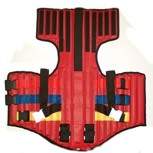 Kamizelka unieruchamiająca typu KED czerwona LG_E3665_RD z kategorii kamizelki i pasy ratunkowe