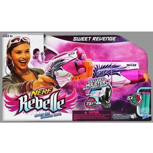 Wyrzutnia HASBRO Nerf Rebelle Sweet Revenge A4808 oferta ze sklepu ELECTRO.pl