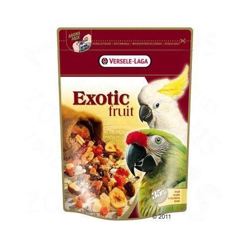 Exotic Fruit - mieszanka owocowa dla papug - 600 g, Versele Laga
