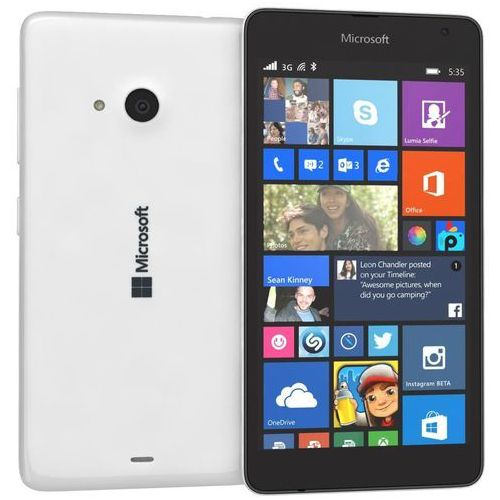 Microsoft Lumia 535 Dual Sim Biały - produkt z kategorii- Pozostałe oprogramowanie