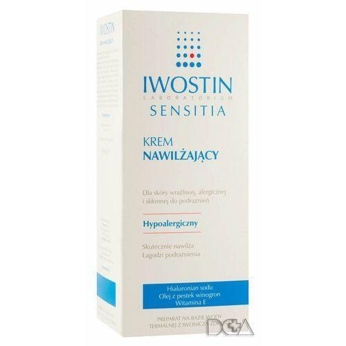 Produkt z kategorii- pozostałe kosmetyki do włosów - Iwostin Sensitia krem nawilżający 150ml