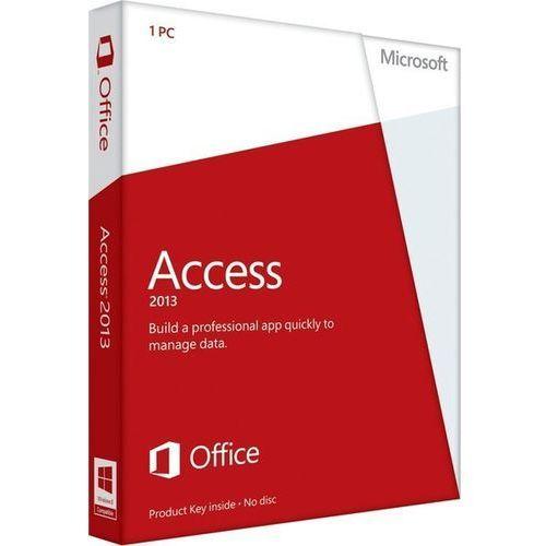Produkt z kategorii- pozostałe oprogramowanie - Microsoft Access 2013 32-bit/x64 Medialess PL Win