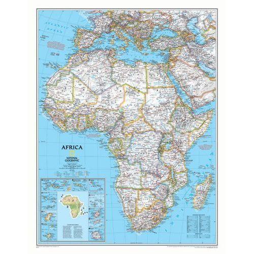 Afryka. Mapa ścienna polityczna Classic w ramie 1:9,3 mln wyd. , produkt marki National Geographic