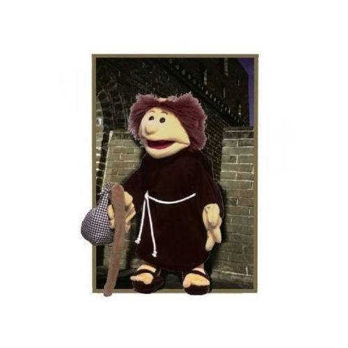 Mnich Bernard - pacynka z ruchomą buzią i rękami (pacynka, kukiełka)