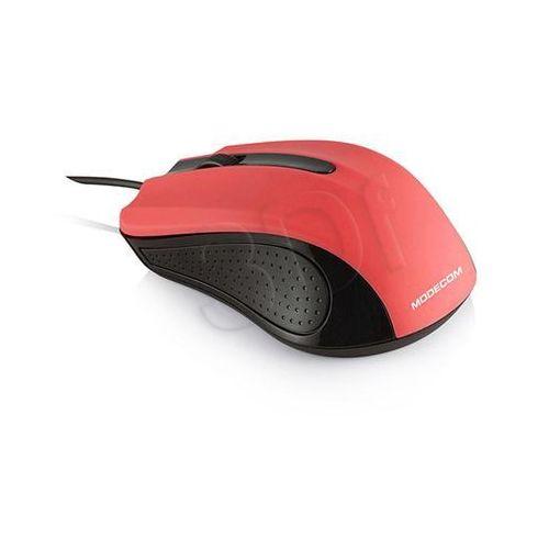 PRZEWODOWA MYSZ OPTYCZNA MODECOM M9 RED z kat.: myszy, trackballe i wskaźniki