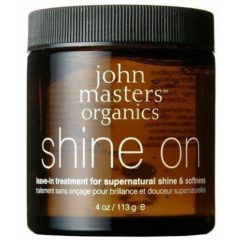 John Masters Organics Shine On Treatment 113g W Serum do włosów - produkt z kategorii- odżywki do włosów
