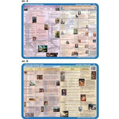 Historia Literatury - podkładki edukacyjne (3 szt.) - oferta [2599e10451a21330]