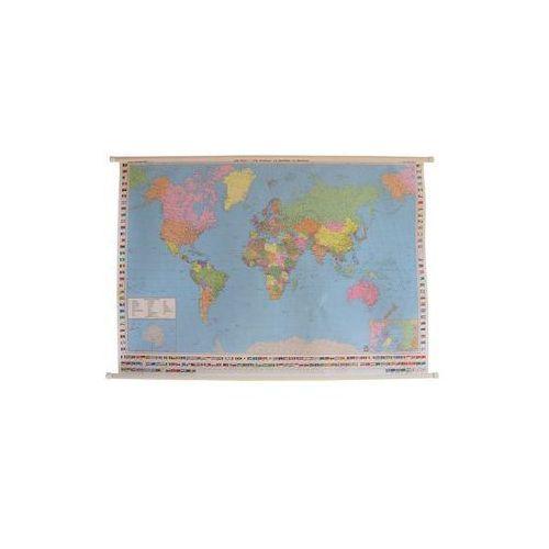 Świat mapa ścienna polityczna 1:35 000 000  & Berndt, produkt marki Freytag