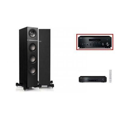 YAMAHA R-S500 + CD-N301 + KEF Q500 czarne - wieża, zestaw hifi - zmontuj tanio swój zestaw na stronie