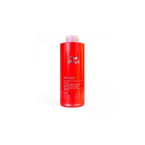 Wella Brilliance odżywka do włosów grubych, farbowanych, 1000ml - produkt z kategorii- odżywki do włosów