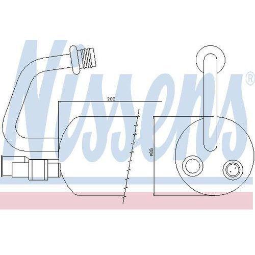 Towar z kategorii: osuszacze powietrza - Osuszacz, klimatyzacja NISSENS 95211