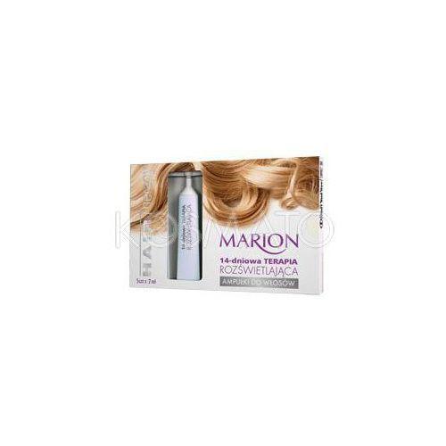Produkt z kategorii- pozostałe kosmetyki do włosów - Marion Hair Therapy 14-dniowa Terapia Rozświetlająca, 5 x 7 ml