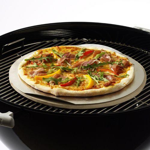 Kamień do pizzy okrągły 36,5cm, produkt marki Weber