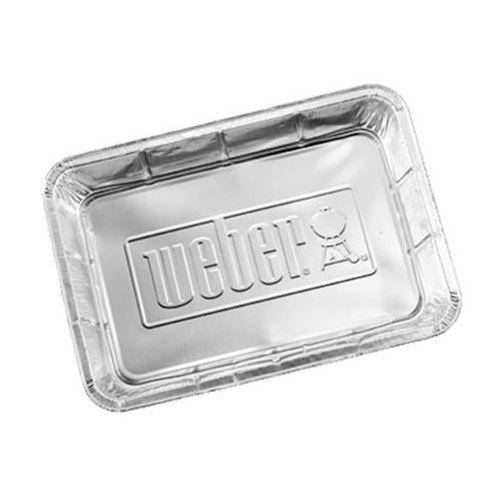 Aluminiowe miski ociekowe duże, 10szt. firmy , produkt marki Weber