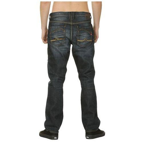 jeansy Quiksilver Norpac - Dark Scraped - produkt z kategorii- spodnie męskie