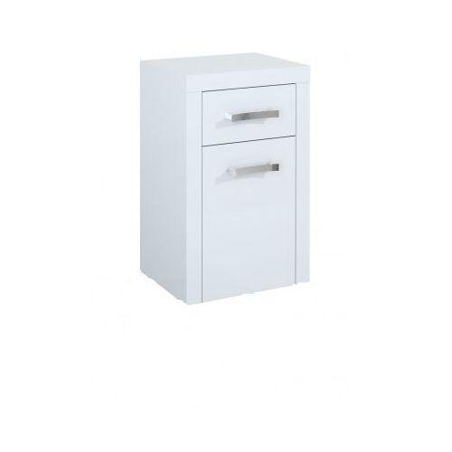 ELITA Tokyo White komoda (półsłupek) 164247 - produkt z kategorii- regały łazienkowe