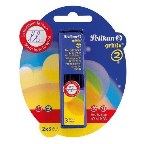 Wkład do ołówka Griffix 2, 3szt x 2 opak., PELIKAN - podwójne - oferta [e5dad8a42fa3c38d]
