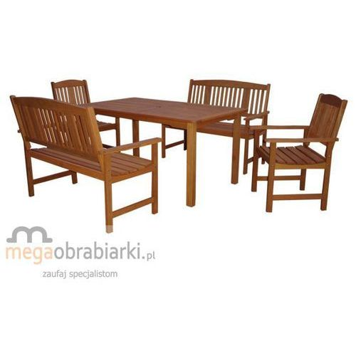 HECHT Zestaw ogrodowy - stół + 2 krzesła + 2 ławki Weekend DZWOŃ I NEGOCJUJ CENĘ 77 415 31 82 !!