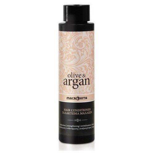 MACROVITA ARGAN & OLIVE odżywka do włosów z olejkiem arganowym 200ml - 200ml - produkt z kategorii- odżywki do włosów