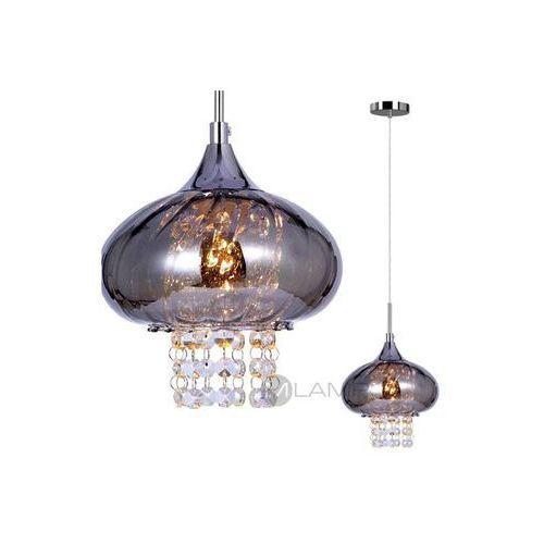 Artykuł Kryształowa LAMPA wisząca OPRAWA dekoracyjna MARVI Italux MDM2169/1 A IP20 chrom z kategorii lampy wiszące