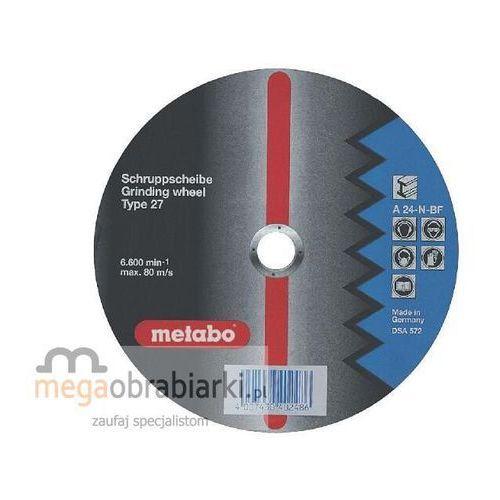 METABO Tarcza ścierna do stali 125x4,0x22,2 (25szt) Flexiamant A 24-N wypukła RATY 0,5% NA CAŁY ASORTYMENT DZWOŃ 77 415 31 82 ze sklepu Megaobrabiarki - zaufaj specjalistom