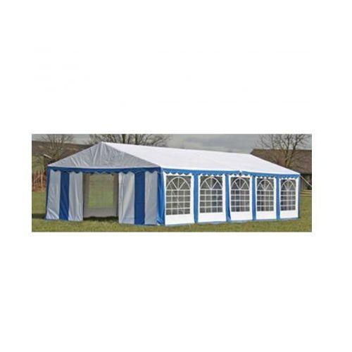 Pawilon ogrodowy 10x5m (dach+penele boczne), niebiesko-biały - produkt z kategorii- namioty ogrodowe