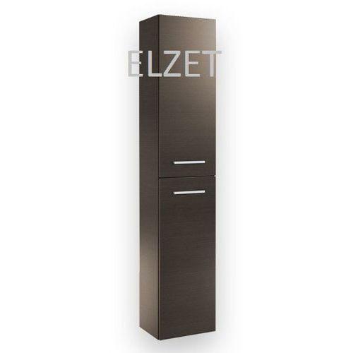ELITA Kwadro Trufla słupek 2D z drzwiczkami 164593 - produkt z kategorii- regały łazienkowe