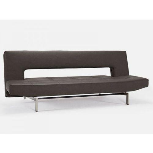 Sofa Wing brązowa 592 nogi stalowe  742001592-742001-8-2, INNOVATION iStyle