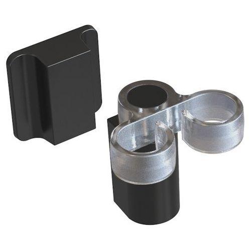 Uchwyt na szczotkę do mycia naczyń Magisso czarny - produkt z kategorii- suszarki do naczyń