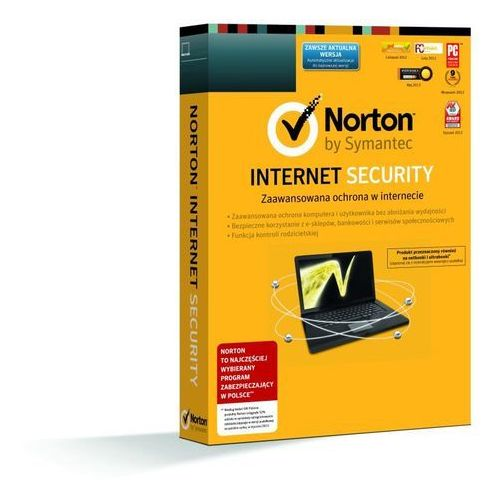 Oferta Symantec Norton Internet Security 2014 PL 5 PC 12 Miesiecy [d52adba53f43a2fa]