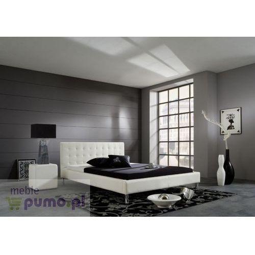 Nowoczesne łóżko JOEL - kolor biały - 140 x 200cm ze sklepu Meble Pumo