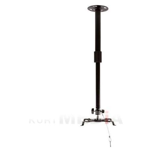 Uchwyt sufitowy do projektorów uchylny/regulowana wysokość max.8kg czarny od producenta 4world