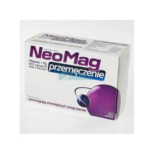 Neomag przemęczenie x 50 tabl, postać leku: tabletki