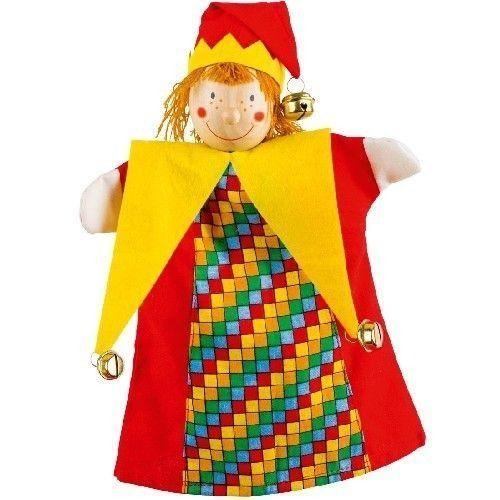 Pacynka do zabaw w teatr - Królewski klaun (pacynka, kukiełka)