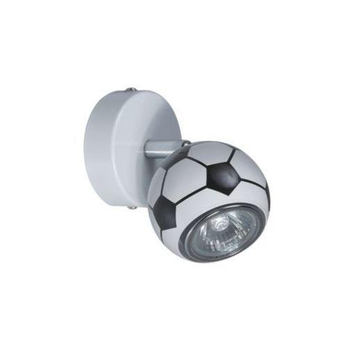 KINKIET dziecięcy LAMPA ścienna OPRAWA piłka PLAY  2400104 biały czarny, produkt marki Spotlight