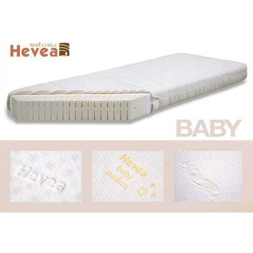 Produkt MATERAC LATEKSOWY HEVEA 70x130 Z POKROWCEM HEVEA